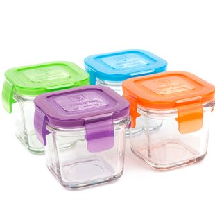 Great Garden 4 Oz. Food Storage Container (Set Of 4)
