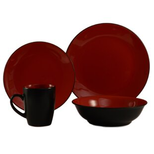 Cleon 16 Piece Dinnerware Set, Service for 4