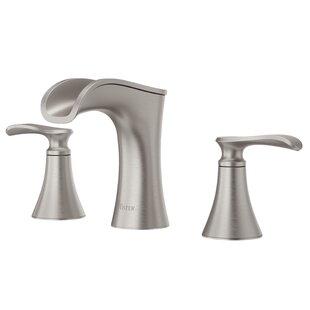 Jaida Widespread Bathroom Faucet With Drain Embly