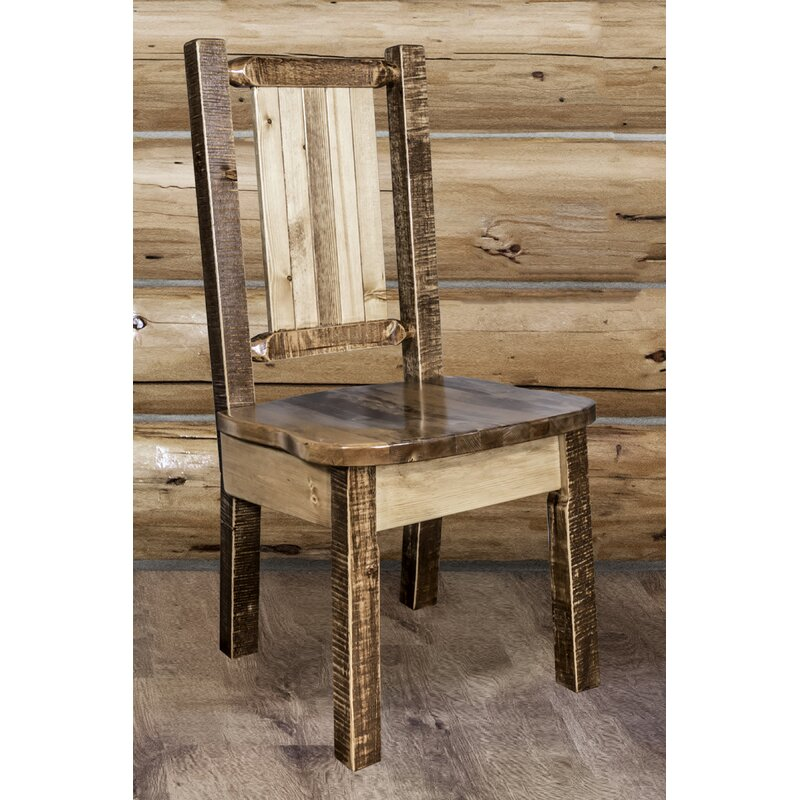 Abella Pine Wood Solid Wood Dining Chair