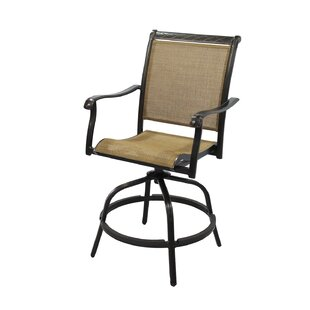 Claverton Swivel Patio Bar Stool
