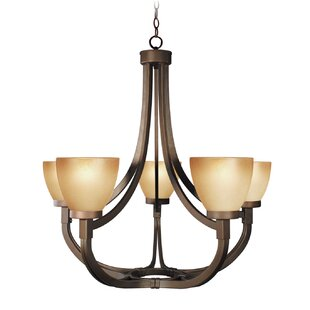 Woodbridge Lighting Wayman 5-Light Shaded Chandelier
