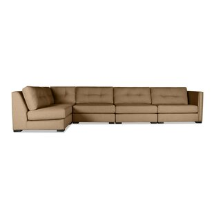 Timpson Buttoned Left L-Shape Modular Sectional