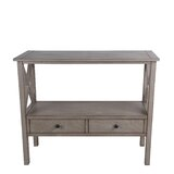 Kingsford 36 Solid Wood Console Table by Gracie Oaks
