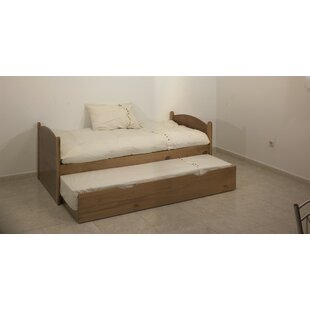 Single Bed Frame With Trundle By 17 Stories