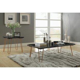 Brayden Studio Canyonville 2 Piece Coffee Table Set