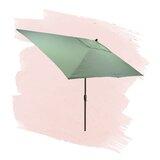 Solid 6.5 x 10 Rectangular Market Umbrella