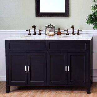 Price comparison Jameson 60 Double Bathroom Vanity Set ByBellaterra Home