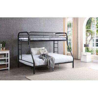 Hodedah Twin over Full Bunk Bed