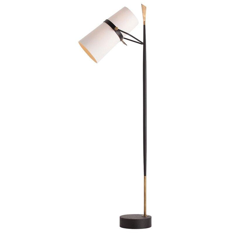 Yasmin 695 task floor lamp reviews allmodern yasmin 695 task floor lamp mozeypictures Images
