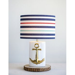 Reviews Chow Ceramic 24 Table Lamp By Highland Dunes