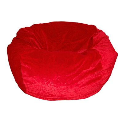 Ahh! Products Bean Bag Chair Upholstery: Red