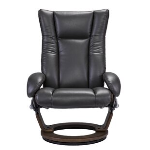 Manual Swivel Recliner with Ottoman by Brayden Studio