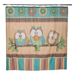 Juliette Owl Single Shower Curtain