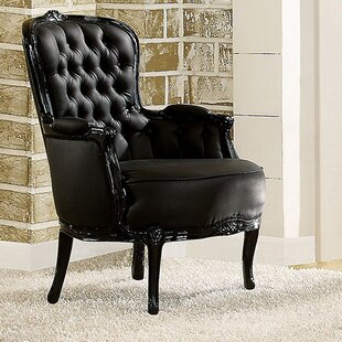 Compare Cain Wingback Chair by A&J Homes Studio Reviews (2019) & Buyer's Guide