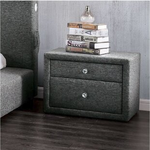 Cotswald 2 Drawer Nightstand by Everly Quinn