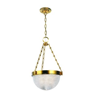 Red Barrel Studio Hesson 3-Light Bowl Pendant