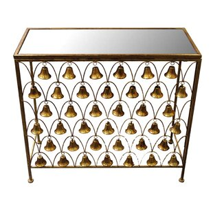 Darby Home Co Manya Metal Console Table