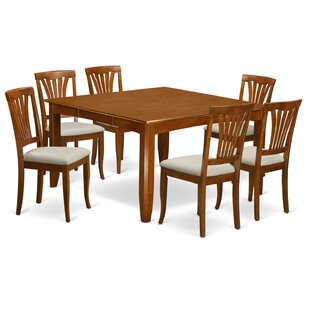 Parfait 7 Piece Extendable Dining Set Wooden Importers