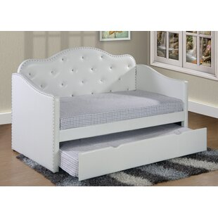 Chrysanthe Twin Over Twin Bed with Trundle