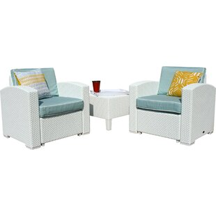 Loggins 3 Piece Conversation Set with Cushions