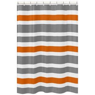 Orange Shower Curtains You Ll Love  Wayfair