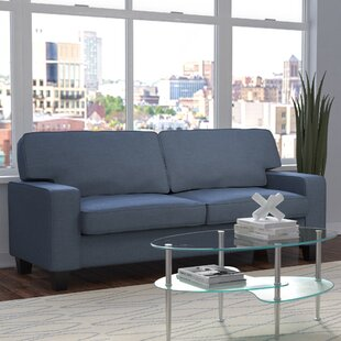 Bittle Linen Modern Living Room Sofa by Wrought Studio