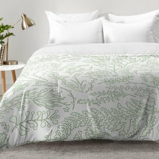 Herbs and Ferns Comforter Set by East Urban Home
