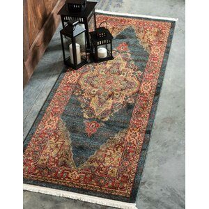 Valley Navy Blue Area Rug
