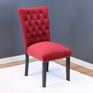 Erling Velvet Side Chair (Set of 2)