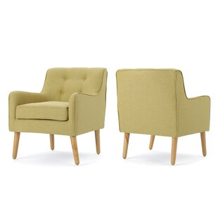 modern contemporary set of 2 accent chairs allmodern