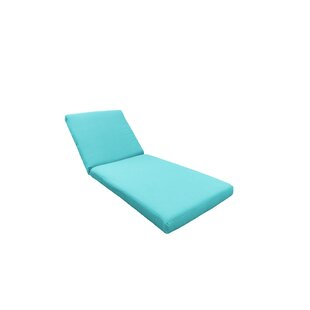 Indoor/Outdoor Chaise Lounge Cushion ByTK Classics