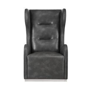 Club Swivel Wingback Chair by Sunpan Modern