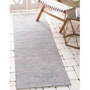 Fagundes Blue Indoor/Outdoor Area Rug