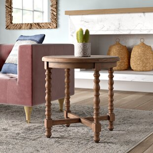 Haylie Wooden End Table by..