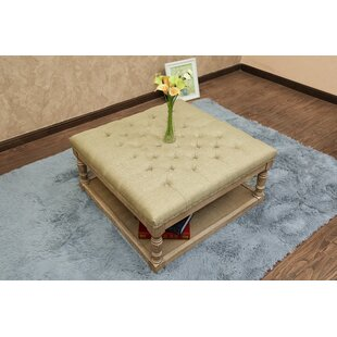 Macsen Tufted Cocktail Ottoman..