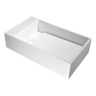 Top Reviews Pascal Plastic Rectangular Vessel Bathroom Sink By ANZZI