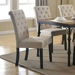 Kenzo Upholstered Dining Chair (Set Of 2) by Alcott Hill Great Reviews