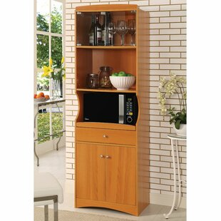 Microwave Cart by Hazelwood Home