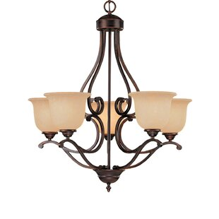 Fleur De Lis Living Beau 5-Light Shaded Chandelier