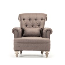 Yves Tufted Club Chair by Zentique Inc.