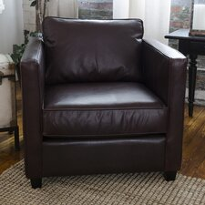 Urban Top Grain Leather Standard Armchair by Elements Fine Home Furnishings