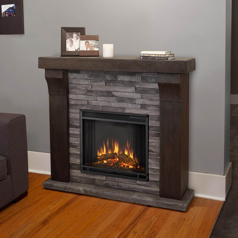 Fireplace Design real flame gel fireplace : Real Flame Avondale Cast Mantel Electric Fireplace & Reviews | Wayfair