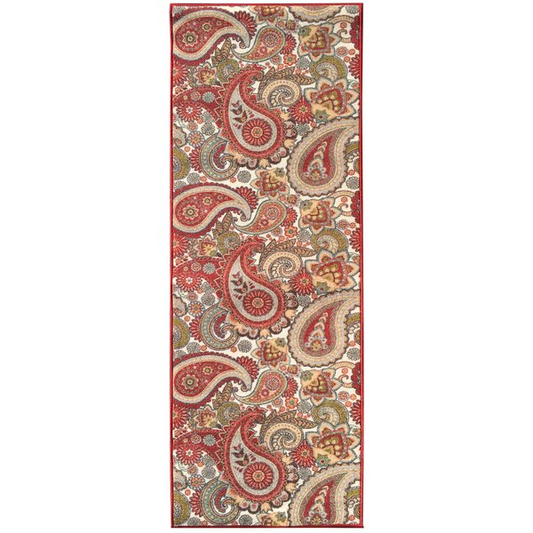 Sweet Home Stores Sweet Home Paisley Cream Area Rug U0026 Reviews | Wayfair