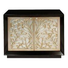 Mirrored 2 Drawer Cabinet by Bradburn Home