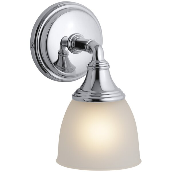 Kohler Devonshire 1 Light Bath Sconce Reviews Wayfair