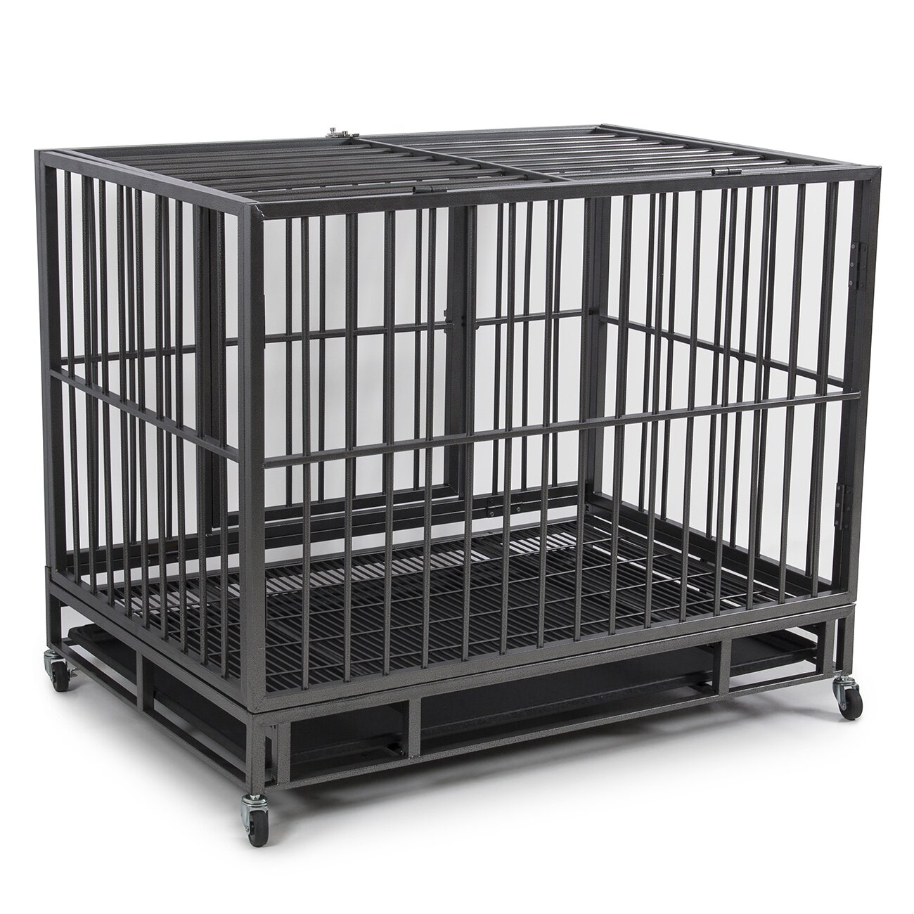 Dog Kennel Heavy Duty Pet Crate By Fur Family