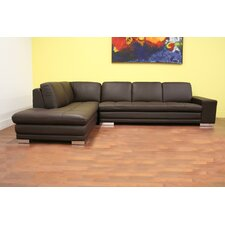 Distressed Leather Sectional Sofas
