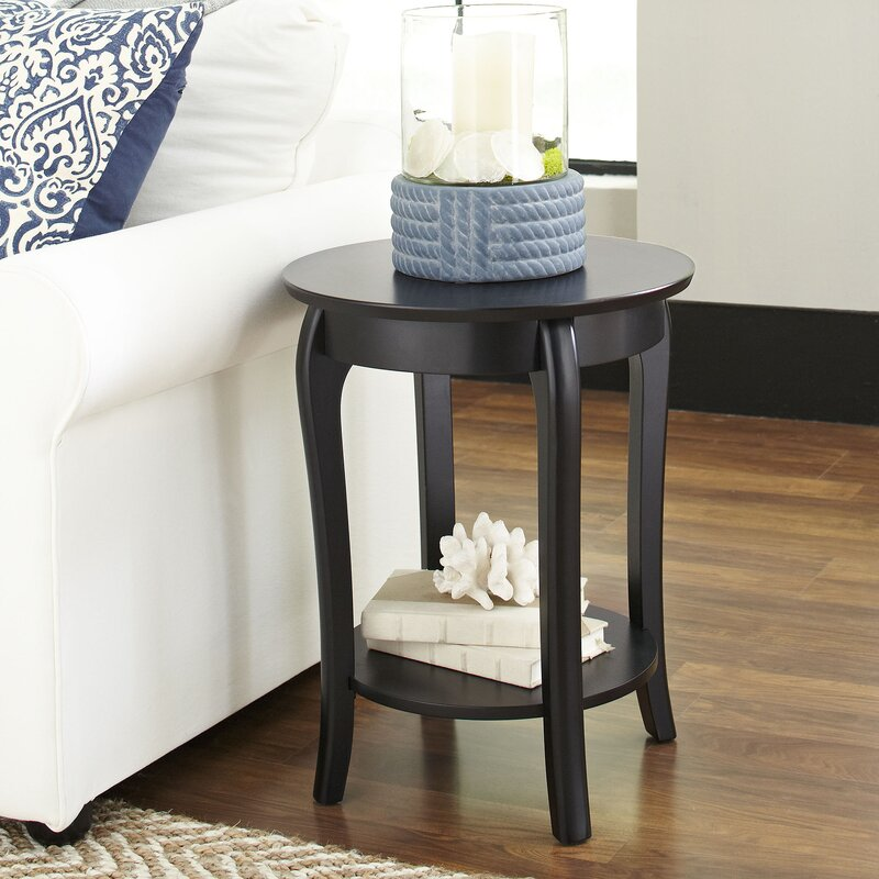 Alberta Round Side Table Reviews Joss Main