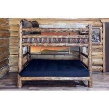 Tustin Twin Over Full Futon Bunk Bed Customizable Bedroom Set by Loon Peak
